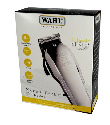Kit de corte de cabello Wahl Super Taper - Chrome / WL8463-308